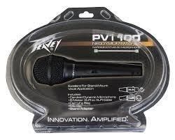 Peavey PVi 100 Microphone - XLR w/ clam shell
