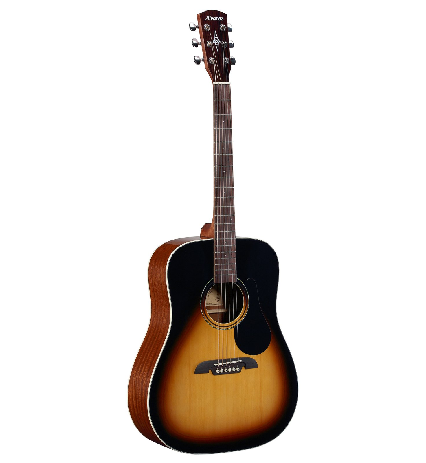 Alvarez Dreadnought; Spruce Top; Mahogany Back and Sides; Gig Bag Included