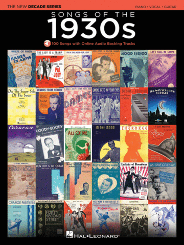 Songs Of The 1930's The New Decade Series; P/V/G