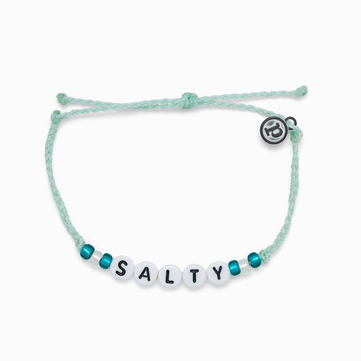 SALTY ALPHABET BEADS