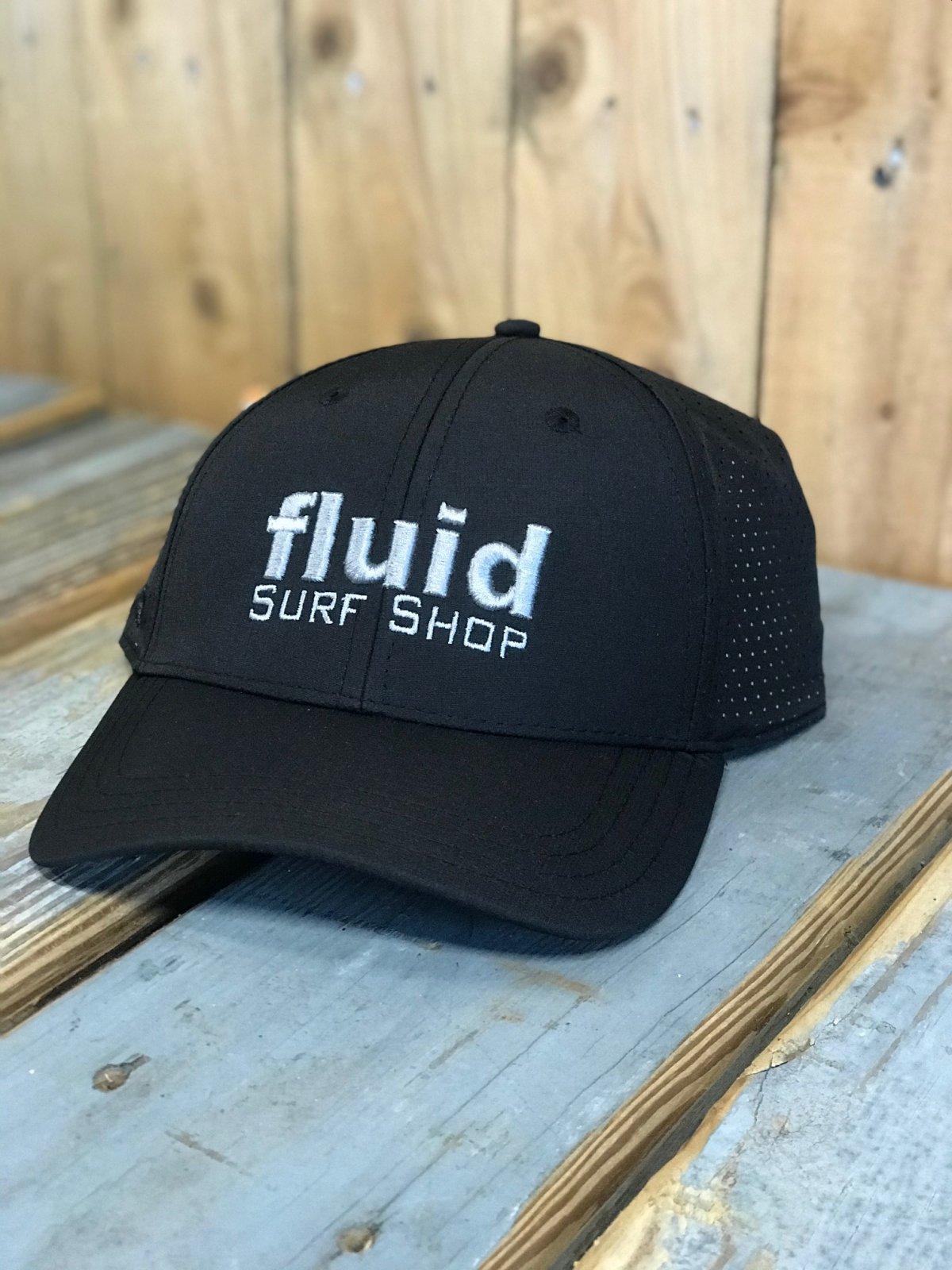 FLUID BLOCK TECH HAT BLK/SIL