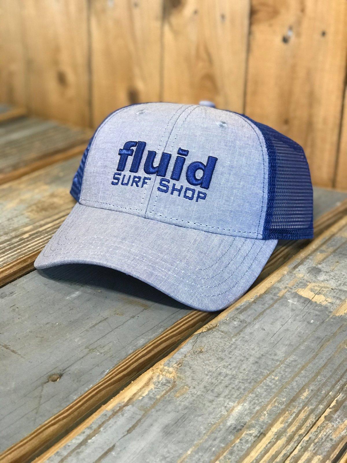 FLUID BLOCK TRUCKER  BLUE