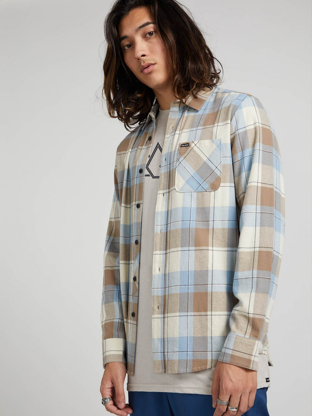 CADEN PLAID FLANNEL
