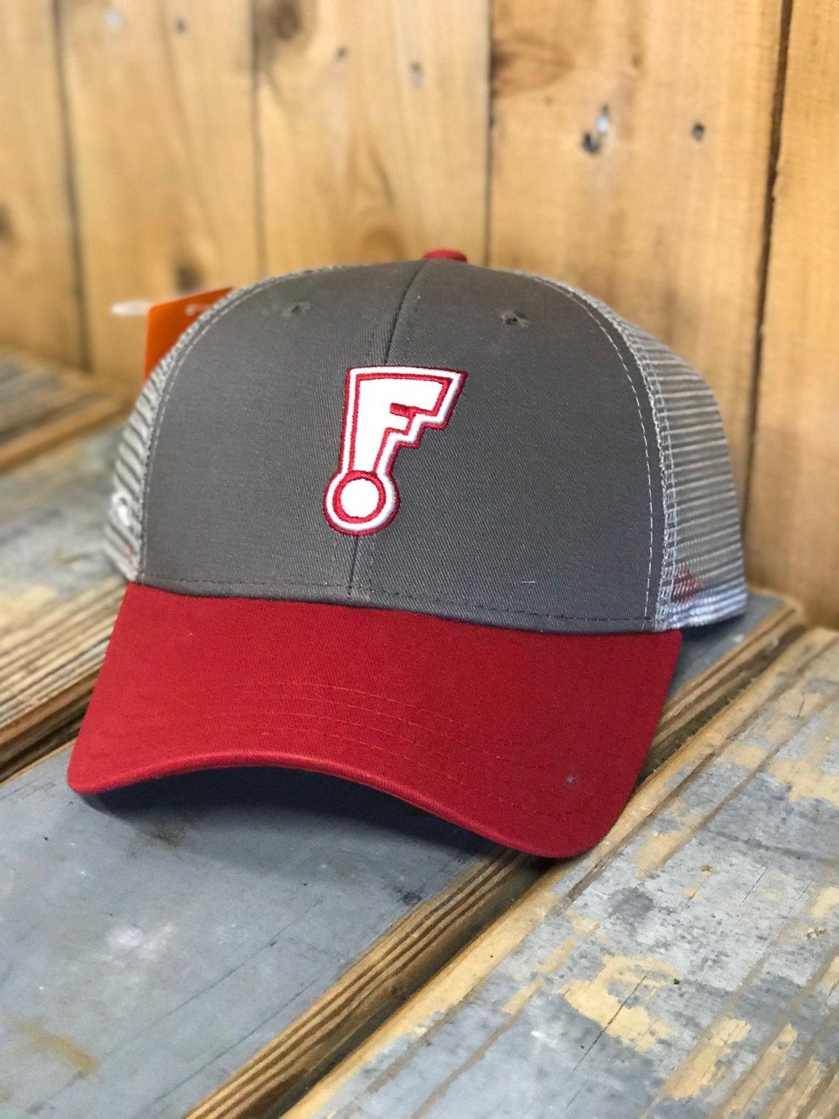 FLUID F DOT TRUCKER GRY/RED
