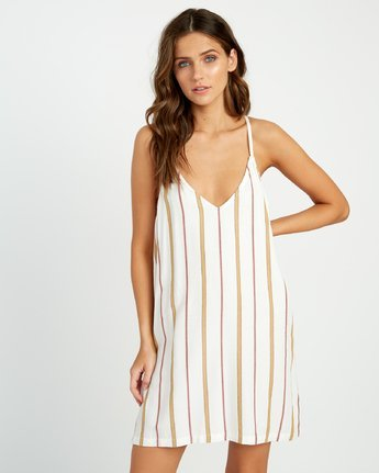 FLUKE STRIPE DRESS