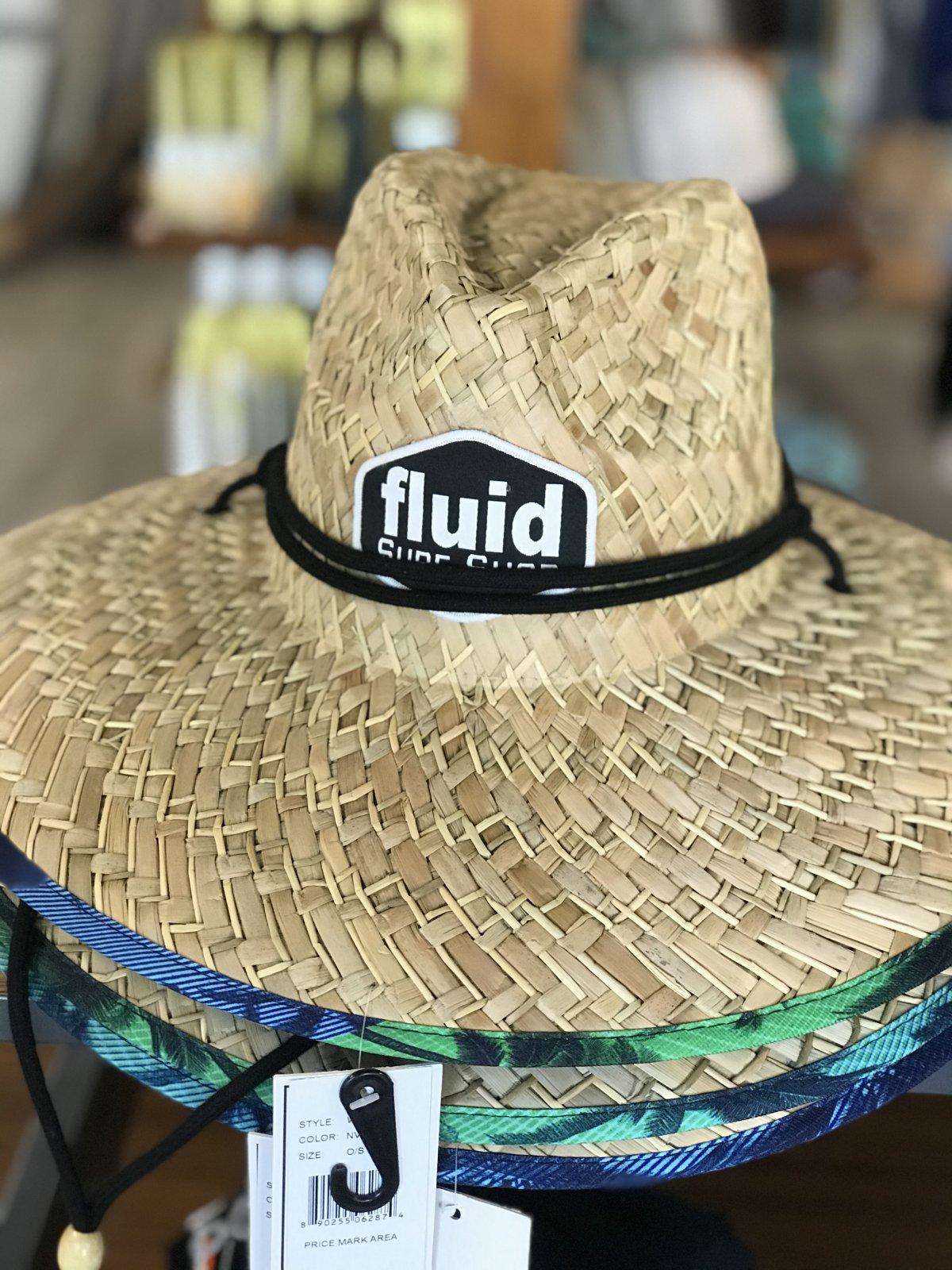 WEDGE STRAW HAT