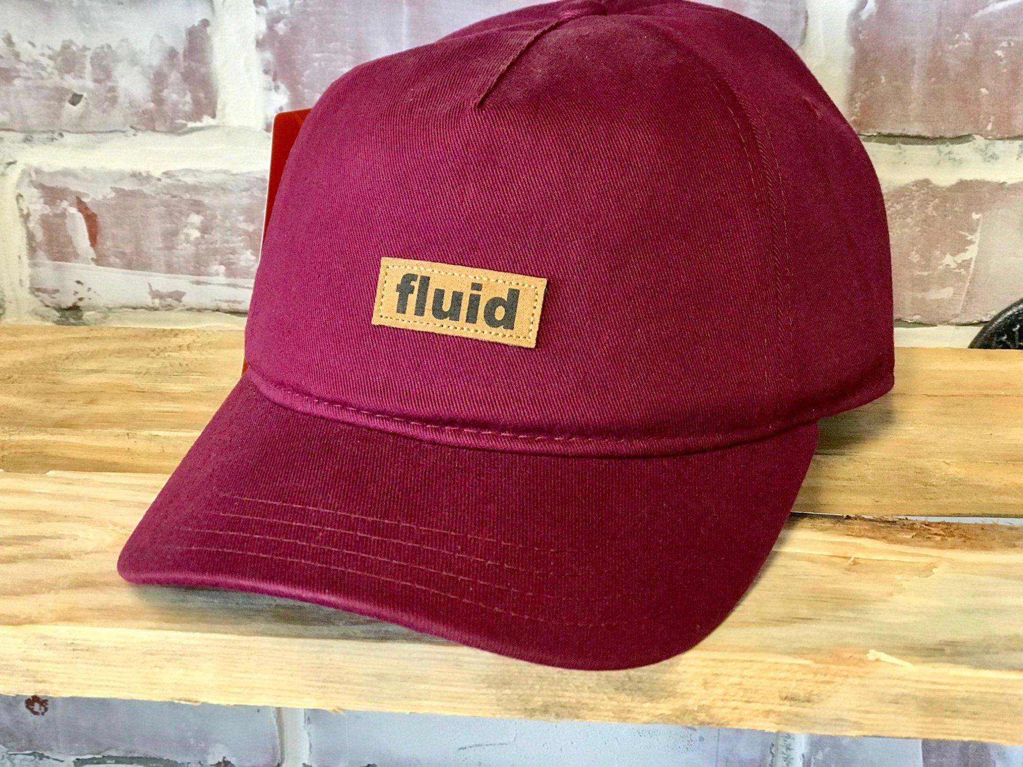FLUID LEATHER PATCH BLOCK HAT