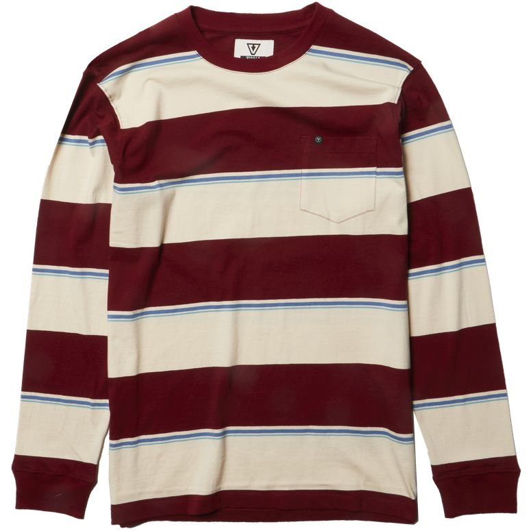 REDUCER LS KNIT BLOOD