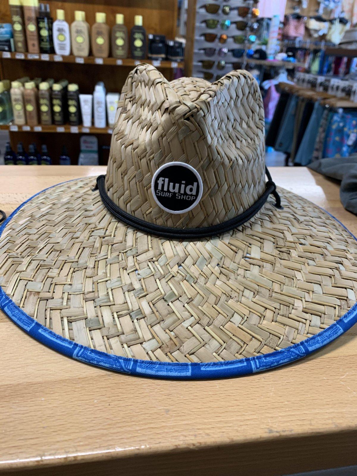 FLUID JETTY STRAW HAT