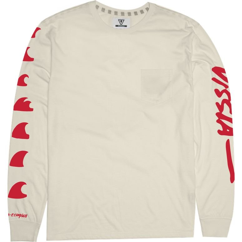 TC Destination Fin Long Sleeve Tee BoNE