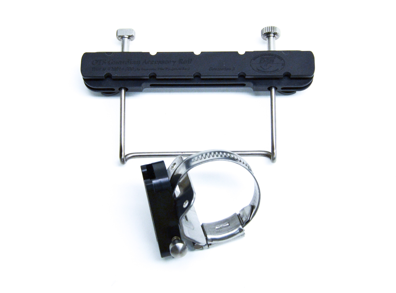 OTS Accessory Rail Universal System (Includes Rail & Universal Slide)