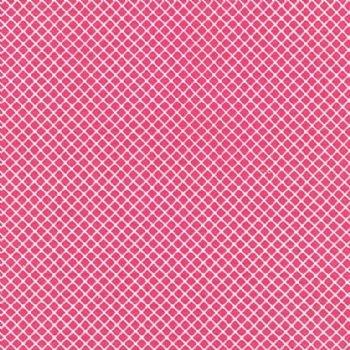 Kaufman Remix Squares Hot Pink 15240-110