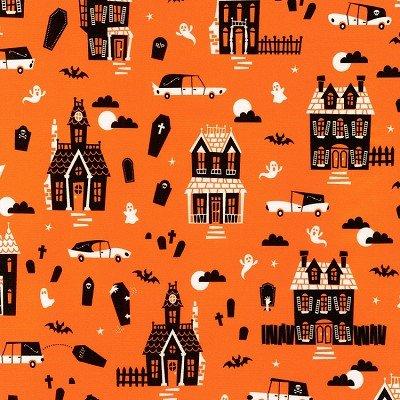 Robert Kaufman Eerie Alley 4 18115 8 Orange
