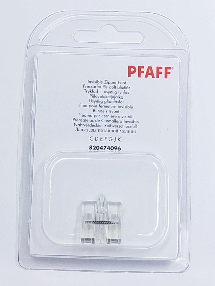 Pfaff Invisible Zipper Foot CDEFGJK 820474096