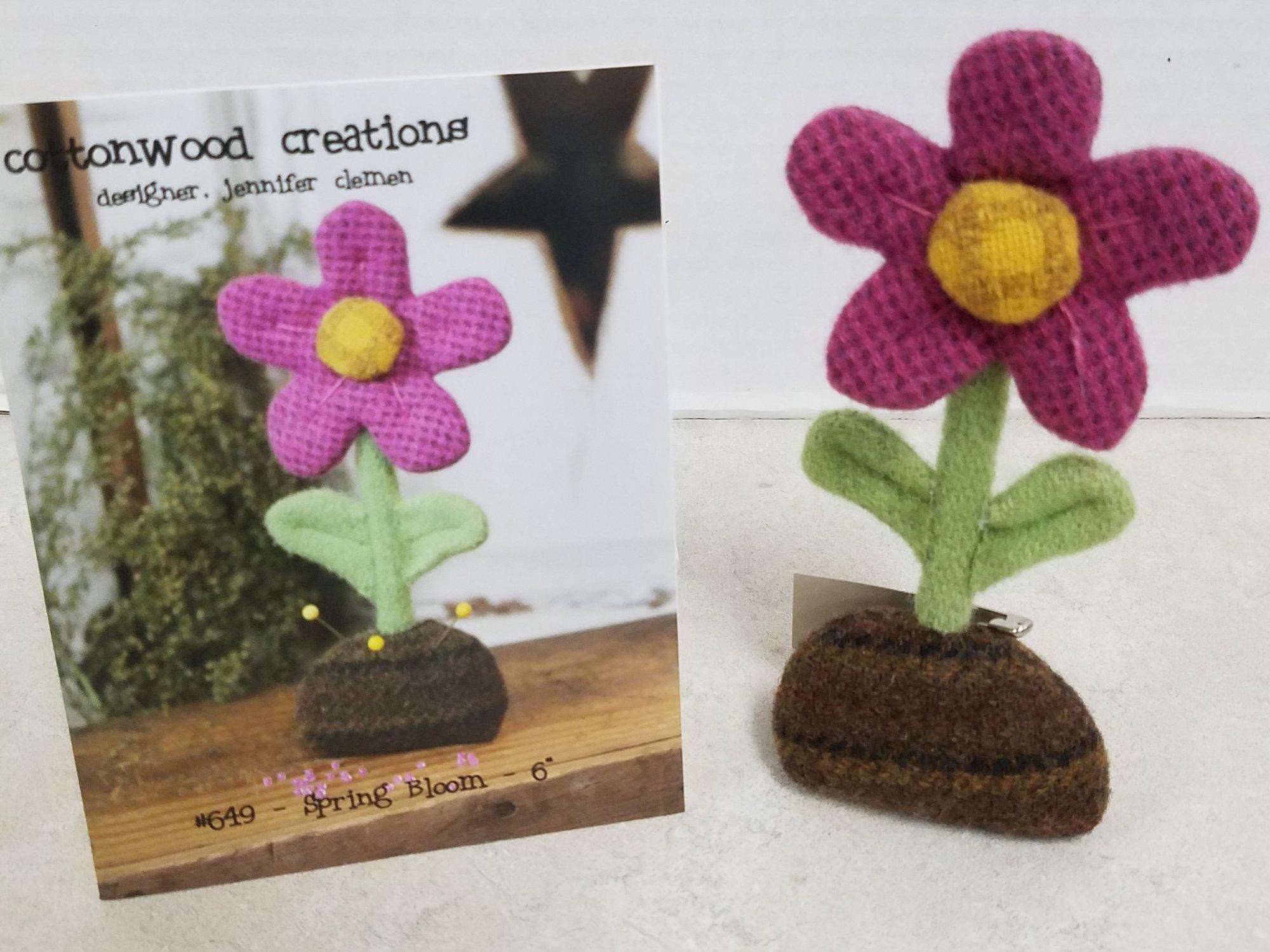 Cottonwood Creations Spring Bloom Pin Keep Pattern