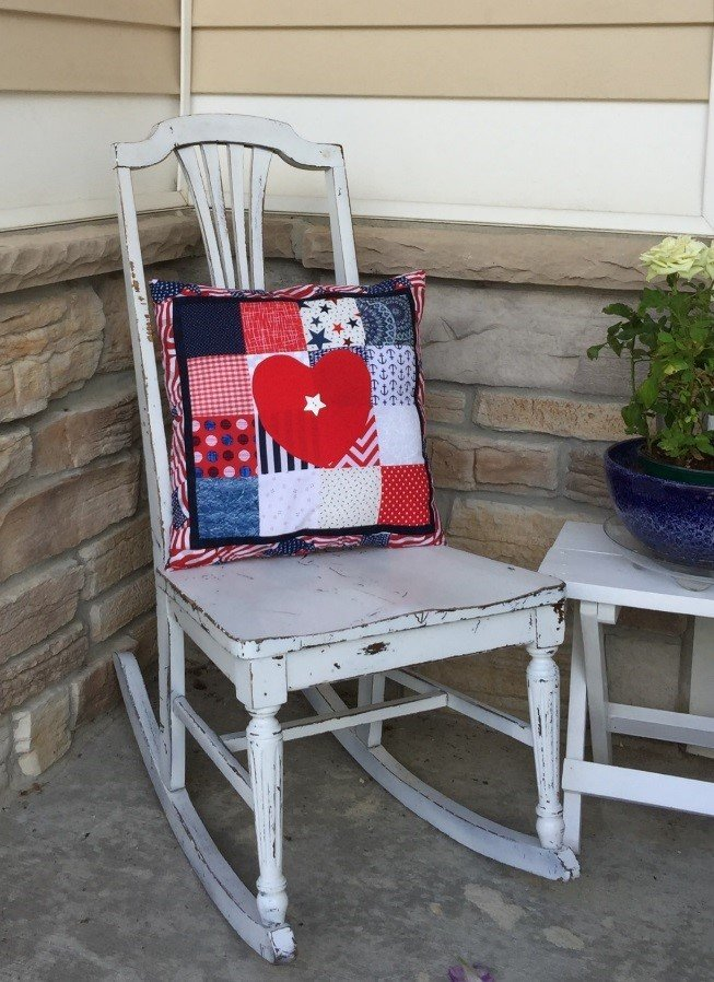 Creekside Quilting 4th of July Pillow Pattern