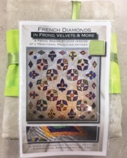 French Diamonds Quilt Kit by Missie Carpenter for Traditional Primitives and Frond Design Studios