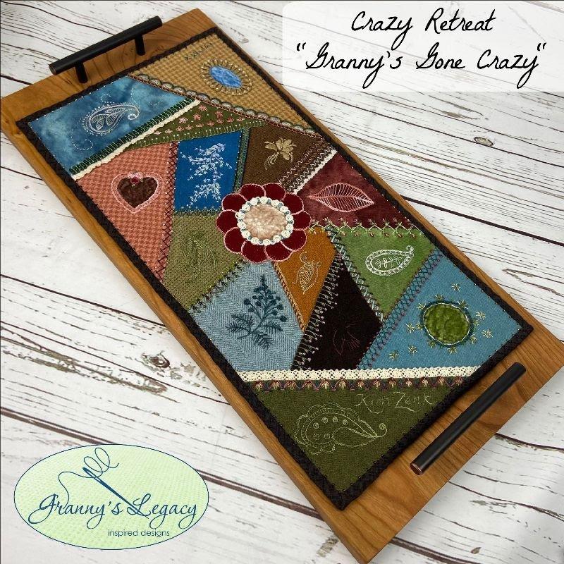 Granny's Legacy Crazy Stitching Retreat 2021