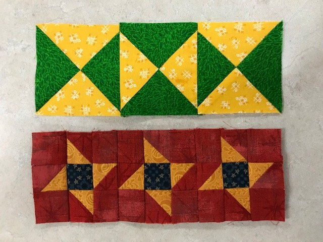 A Mystery Quilt Sashing Block 10 Kit