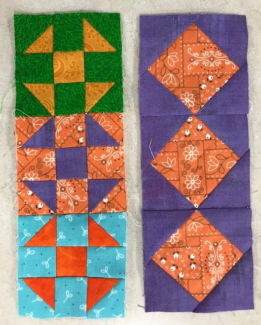 A Mystery Quilt Sashing Block 11 Kit