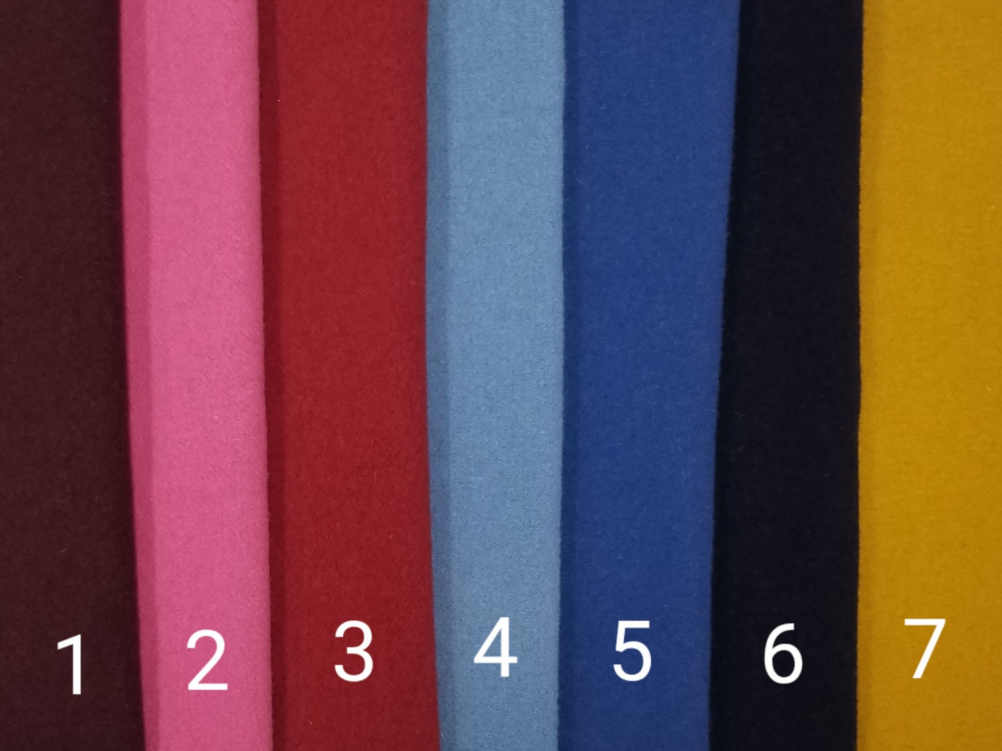 Creekside Felted Wool Classic Solids
