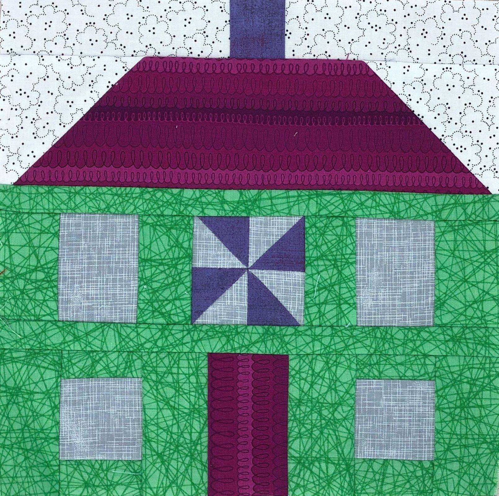 Pinwheel House Block 3 Kit