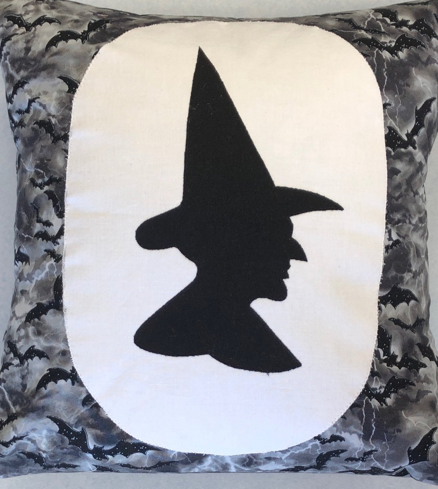 Creekside Quilting Witch Silhouette Pillow Kit