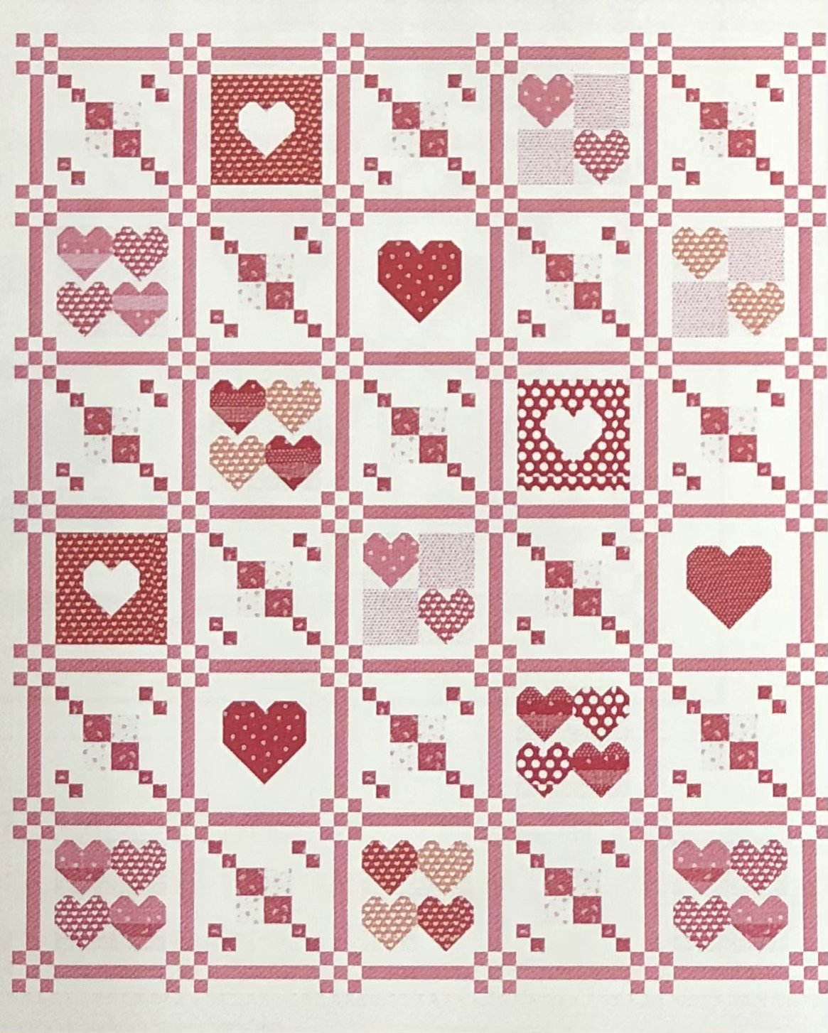Pre-Order Moda Stitch Pink TOGETHER Fabric Bundle
