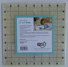 RNK Quilter's Select Ruler 8 x 8