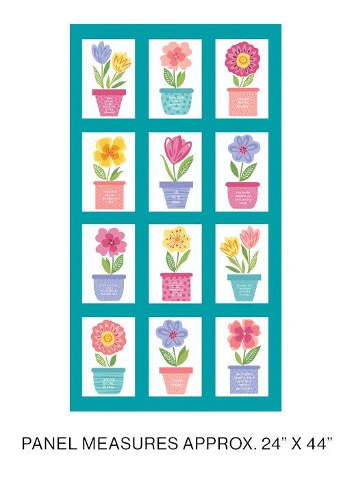 Full Bloom Panel - 24 x 45