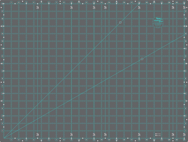 18in x 24in Creative Grids Cutting Mat