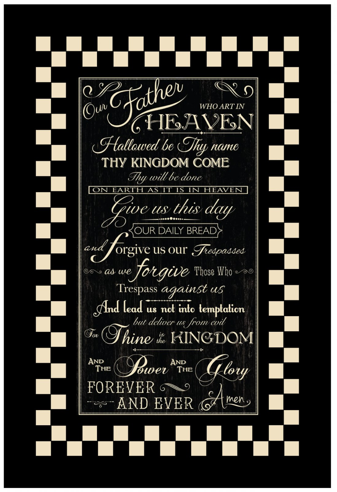 Lord's Prayer Quilt Kit
