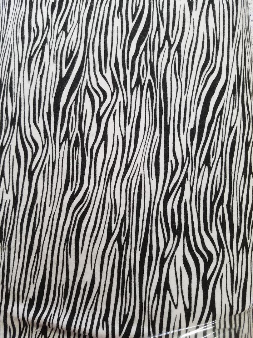 Comfy Prints Zebra