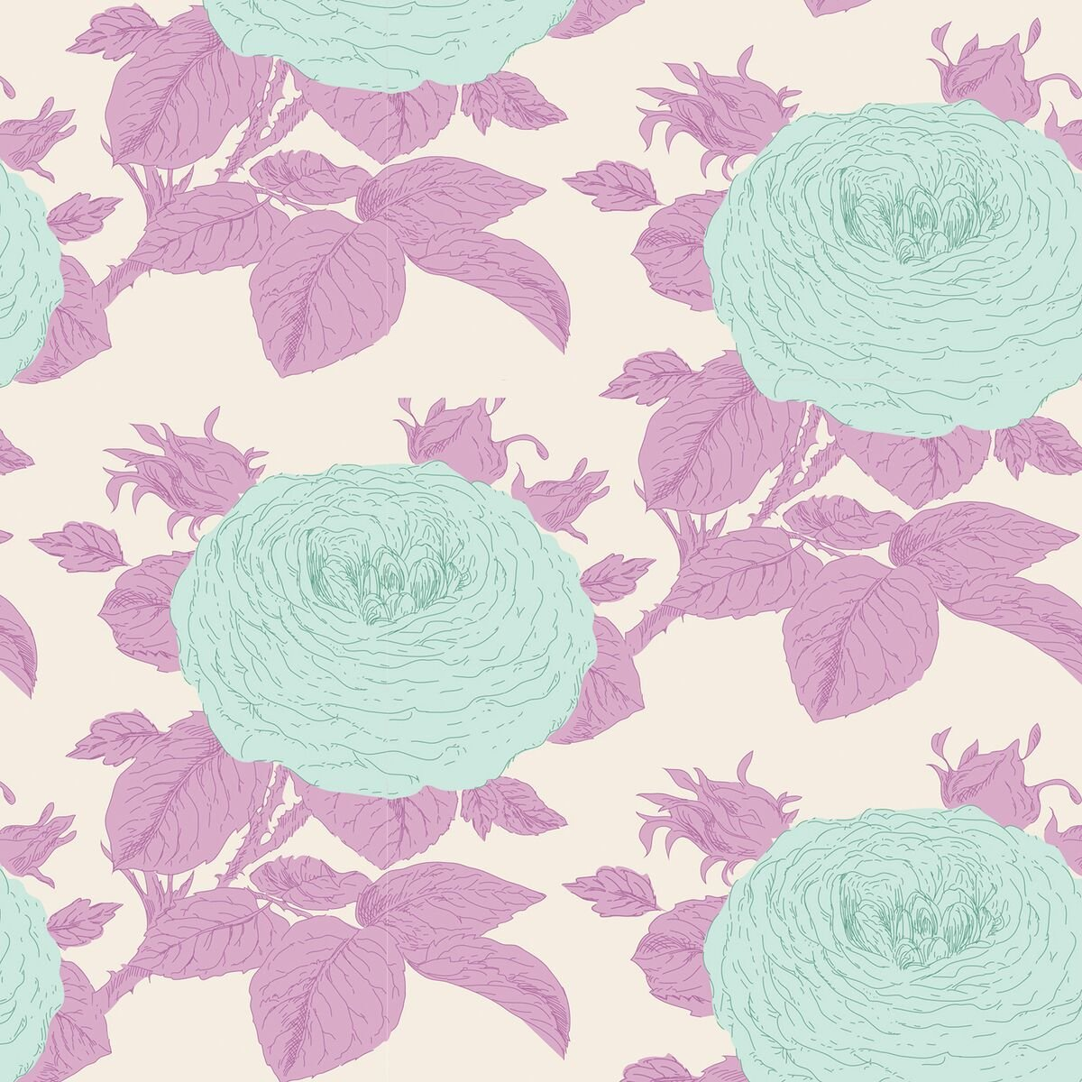 Tilda - Grandmas Rose - Lilac