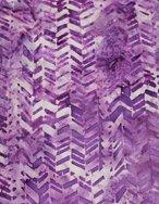 Batik - Purple Chevron