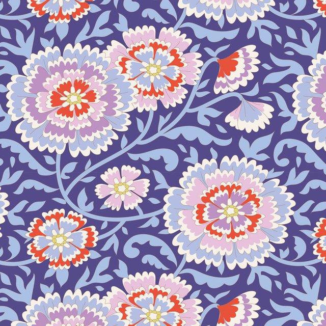 Tilda - Bird Pond - Elodie Lilac Blue