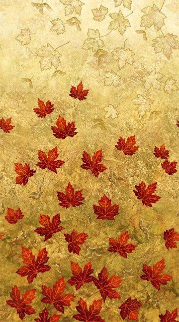 Maplewood Tan Leaves