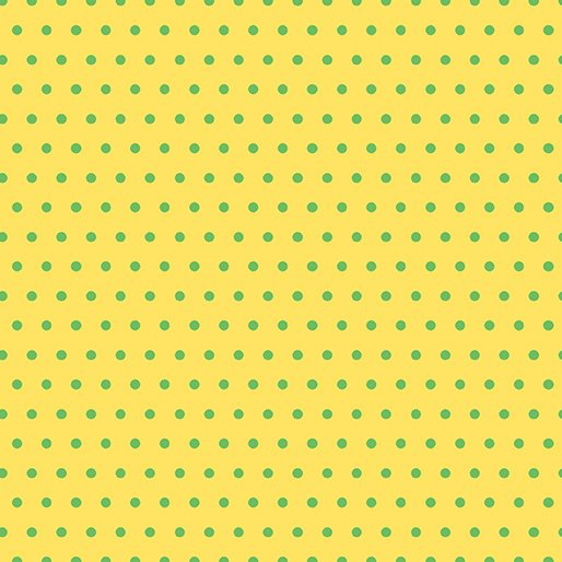 Contempo - Dot Crazy -  Yellow and Green
