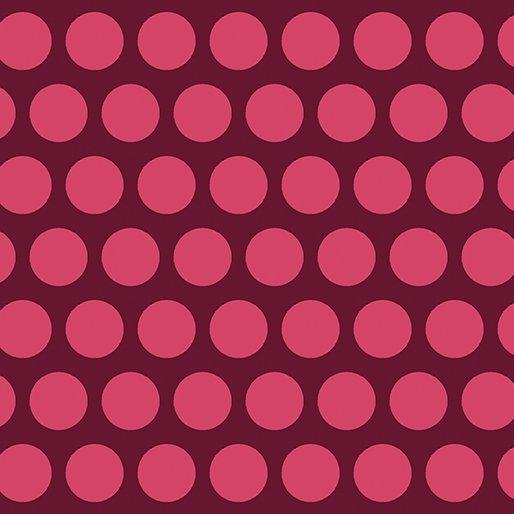 Contempo - Dot Crazy - Dark Pink
