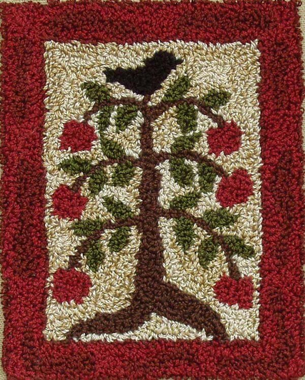 Punchneedle Embroidery Kit - Apple Tree