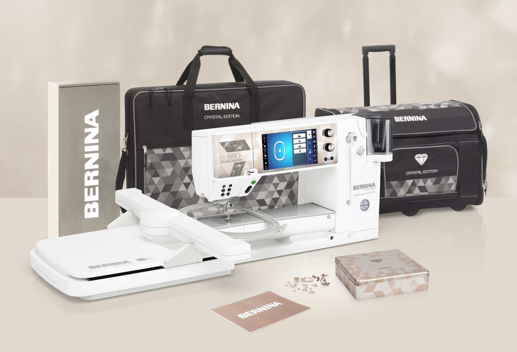 **NEW!** B880 PLUS Special Crystal Edition - COMING SOON