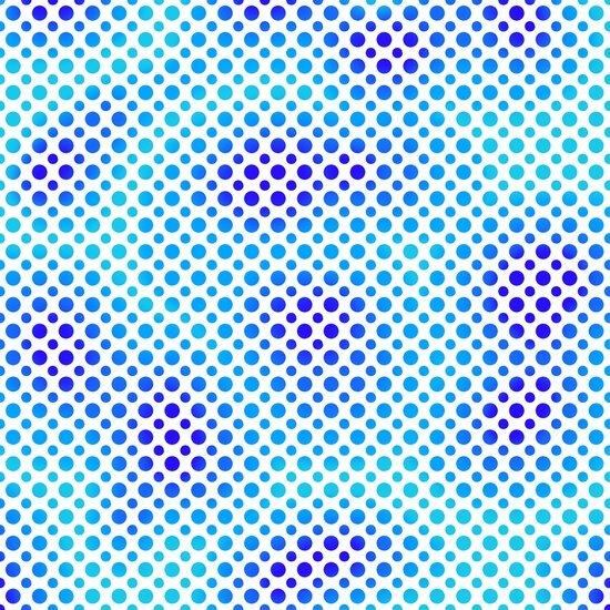 Ombre Dots - Cobalt