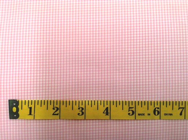 Spechler-Vogel Textiles - Pima Classics - Pink Mini Gingham - 58in Wide