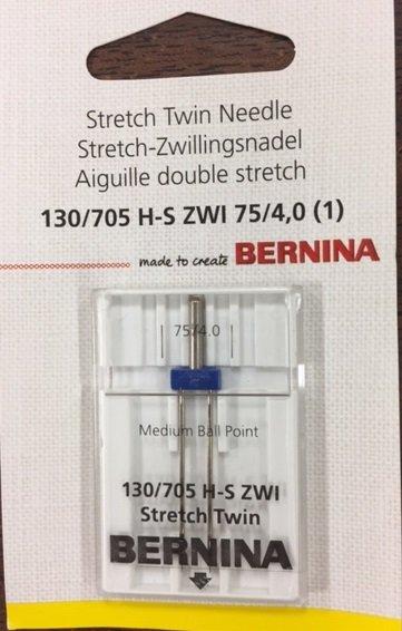 +BERNINA Stretch Twin Needle 130/705 H-S ZWI 75/4.0