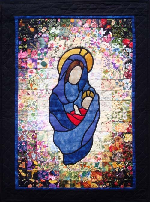 Watercolor Quilt - Madonna