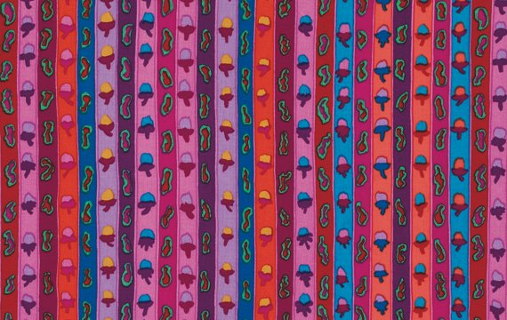 Kaffe Fassett - Ribbon Stripe - Red