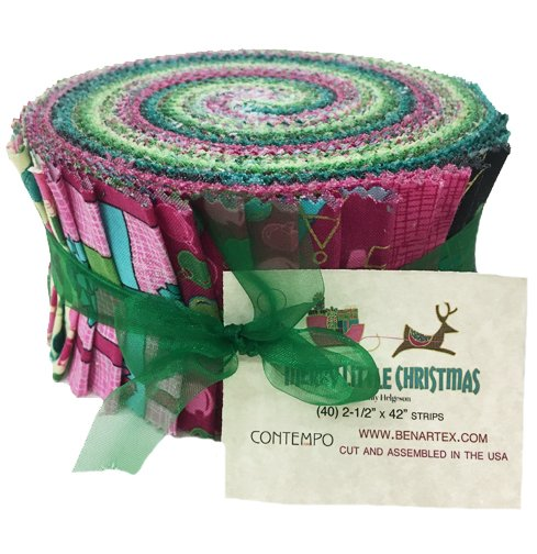 Contempo - Merry Little Christmas Jelly Roll