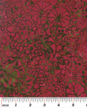 Calypso Bails- Rock Garden Fuscia Green