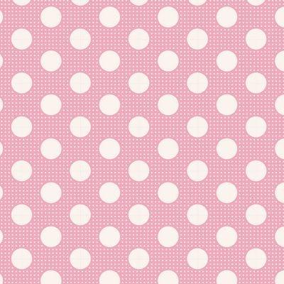 Tilda - Dots - Pink