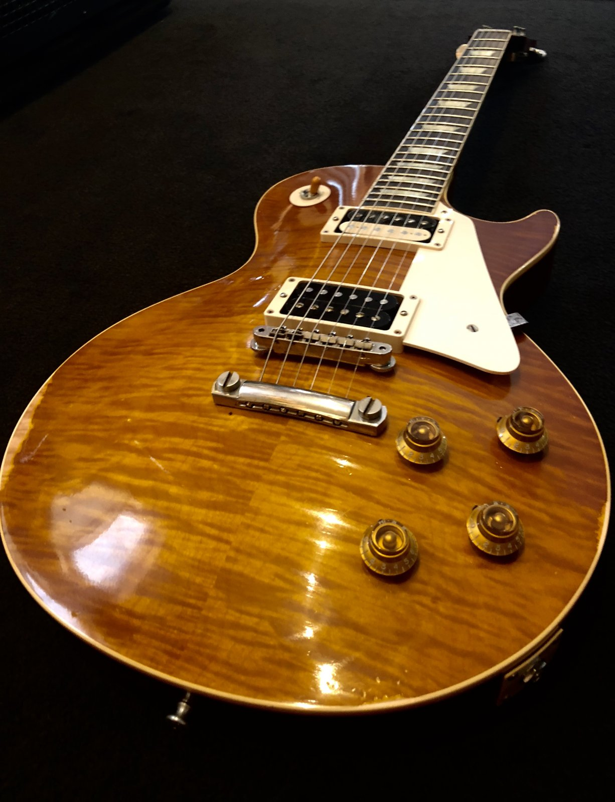 2014 Gibson Custom Shop Aged Vic's Old School '59 Les Paul R9 1959 1 of 25